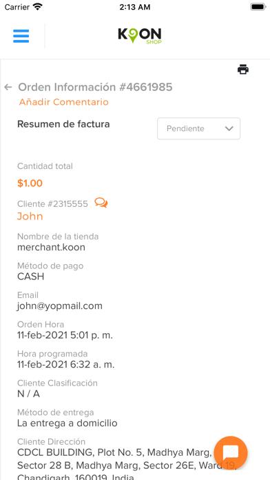 KoonShop Screenshot