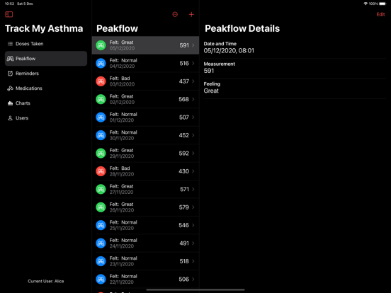 Track My Asthma screenshot 12