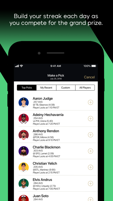 messages.download MLB Beat the Streak software