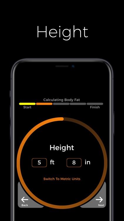 Body Fat Calculator By Fittur screenshot-4