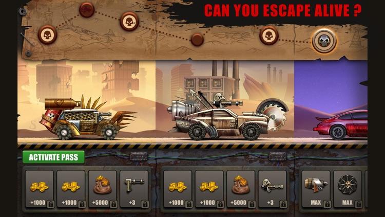 Zombie Hill Racing: Earn & Win screenshot-5
