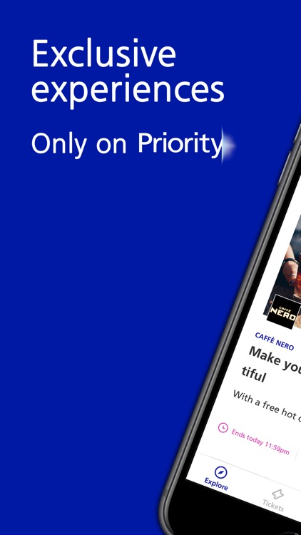 Priority - Tickets & Perks