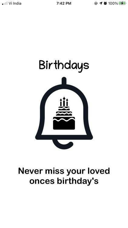 Birthdays Reminders screenshot-6