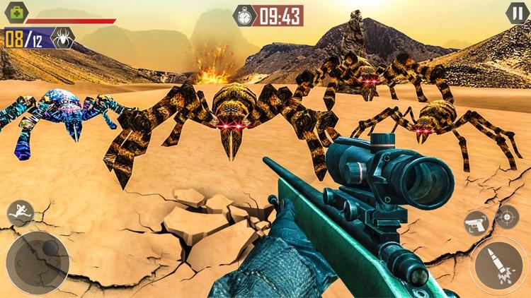 Spider Assasin Sniper Shooting screenshot-3