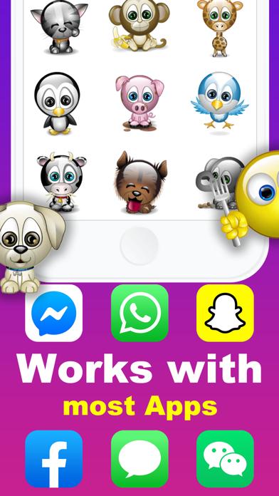 Animated Emoji 3D Sticker GIF screenshot four
