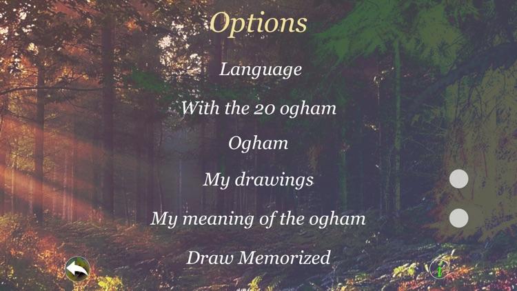 Ogham Oracle screenshot-4