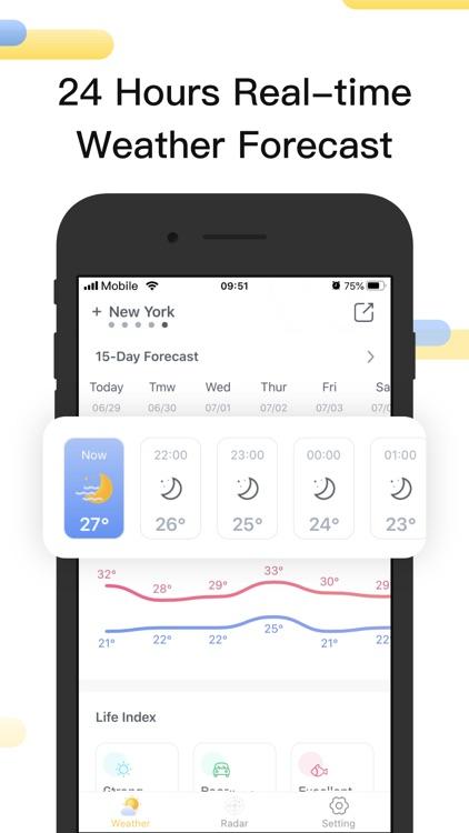 Weather Radar-Tracker & Storm screenshot-3