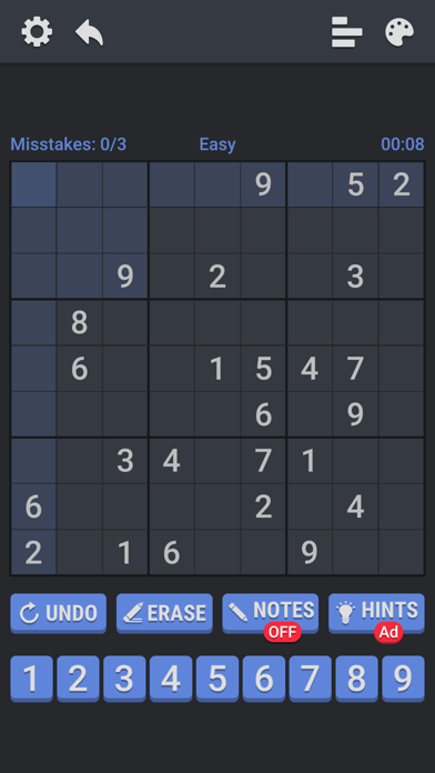 Number Place - Anywhere screenshot #2