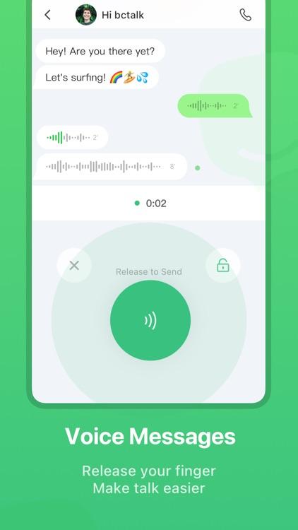 bctalk - A Messaging App