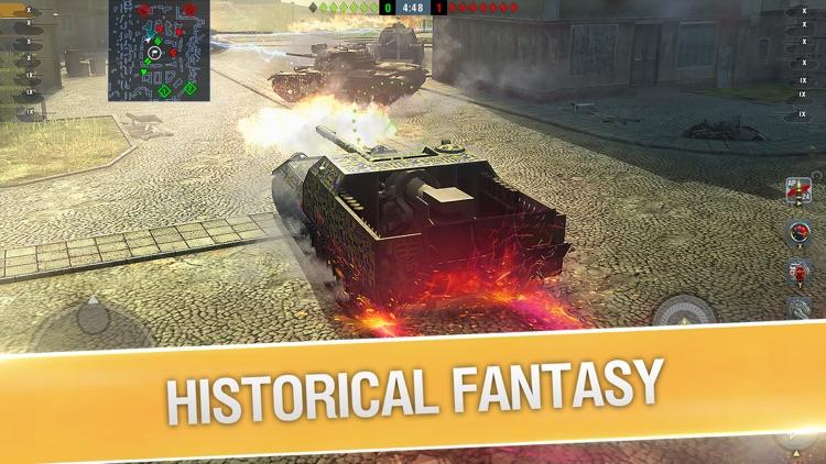 World of Tanks Blitz 3D War screenshot-4