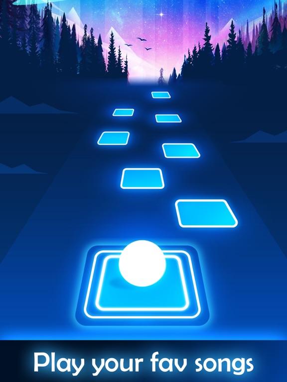 iPad Image of Tiles Hop - EDM Rush