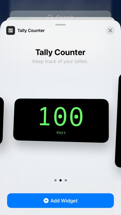 Tally Counter Widget screenshot 4
