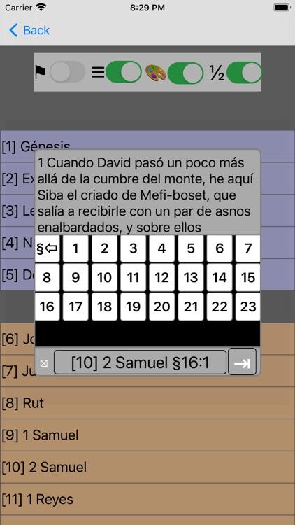 La Biblia Reina Valera-Spanish screenshot-8