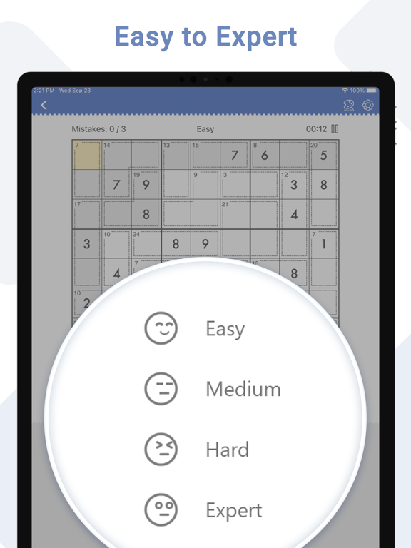 Killer Sudoku - Brain Gamesのおすすめ画像5