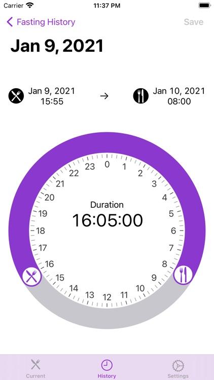 Fasting-Timer screenshot-5