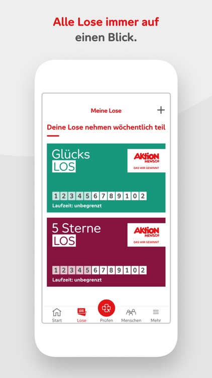 Aktion Mensch-Lotterie screenshot-1