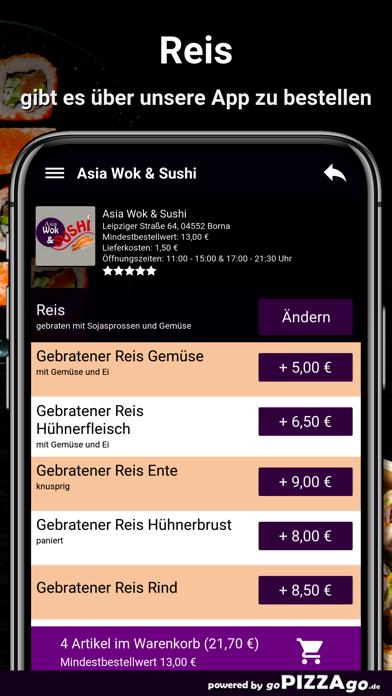 Asia Wok & Sushi Borna screenshot 6
