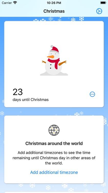 Christmas Countdown Clock