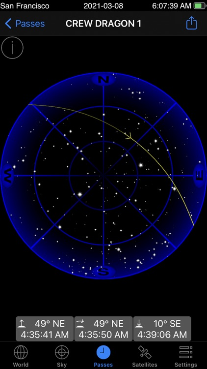 GoSatWatch Satellite Tracking screenshot-3