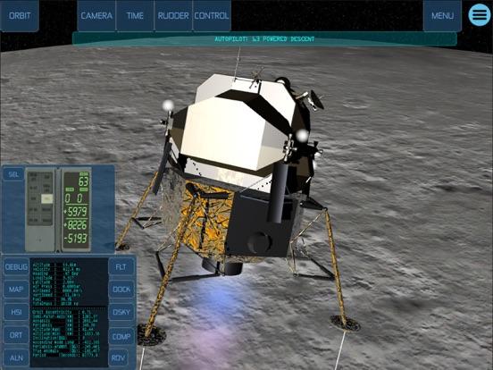 Space Simulator iPad app afbeelding 2