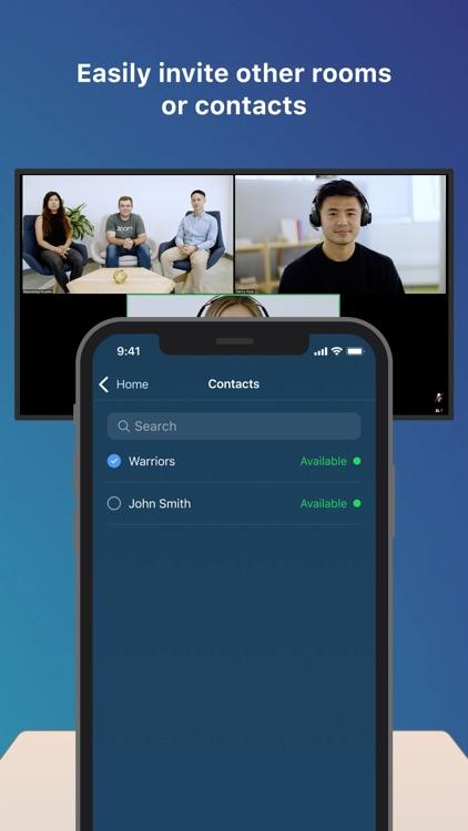 Zoom Rooms Controller screenshot-3