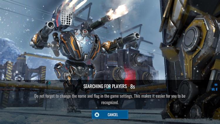 Mech Wars -Online Robot Battle screenshot-3