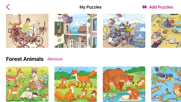 1000 Jigsaw Puzzles Cartoons screenshot-3