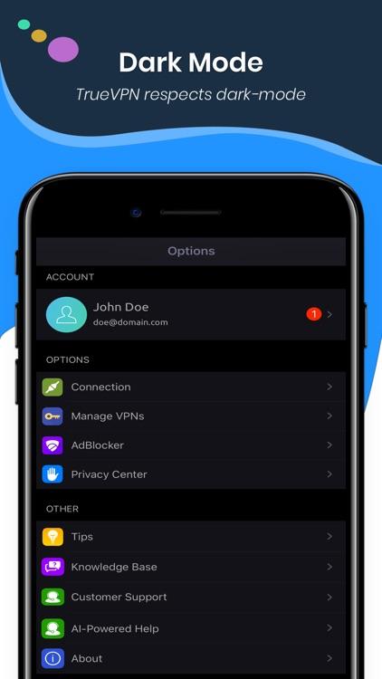 TrueVPN - Best VPN & AdBlocker screenshot-6