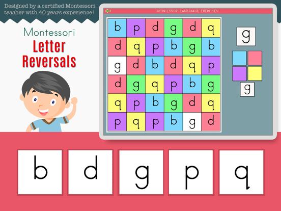 Montessori Letter Reversals screenshot 7
