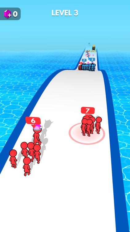 Crowd Battle 3D screenshot-4