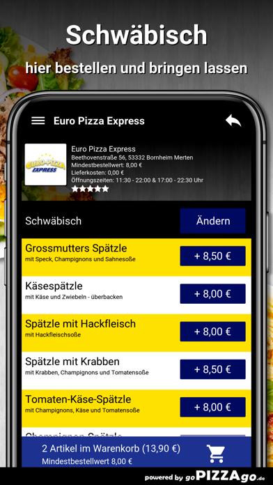 Euro Pizza Bornheim Merten screenshot 6