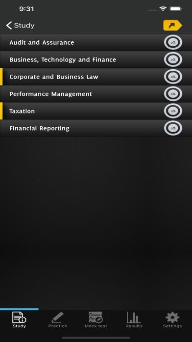 ACCA Exam Revision Prep screenshot 2