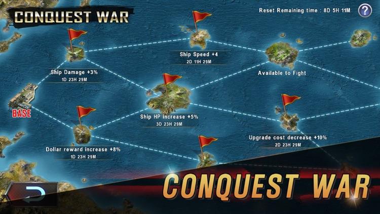 WARSHIP BATTLE:3D World War II screenshot-4