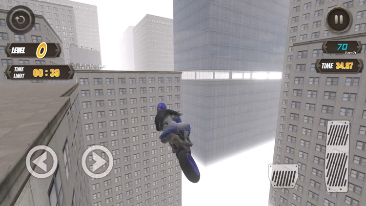 Rooftop Biker screenshot-0