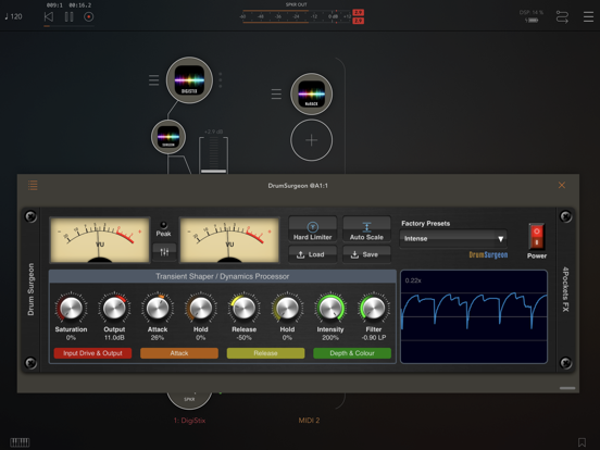 Drum Surgeon AUv3 Plugin screenshot 4