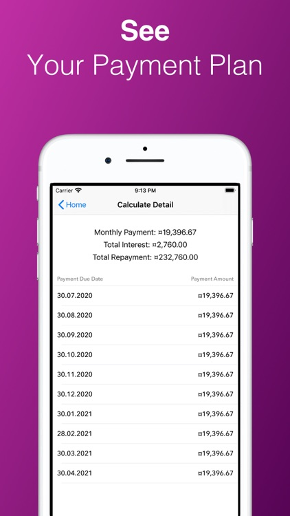 Car & Home Loan Calculator Pro