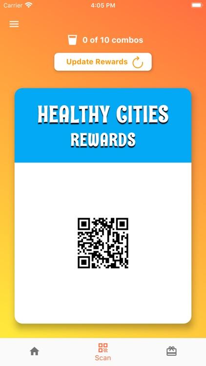 Healthy Cities Rewards
