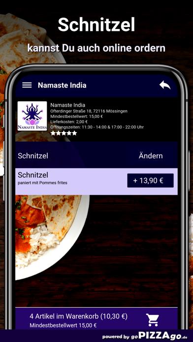 Namaste India Mössingen screenshot 5