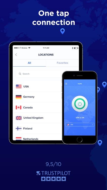 VPN App Master Proxy by VeePN screenshot-3