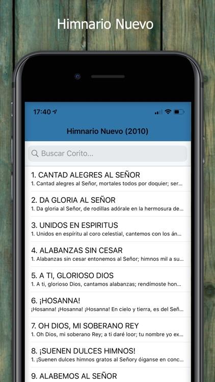 Himnario Nuevo Y Antiguo screenshot-3