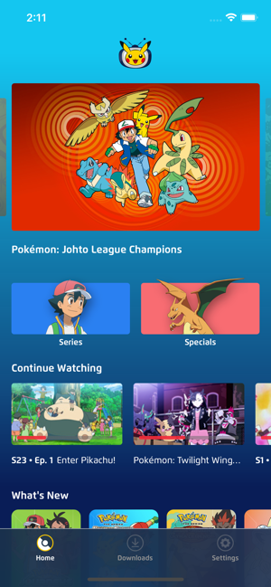 ‎Pokémon TV Screenshot
