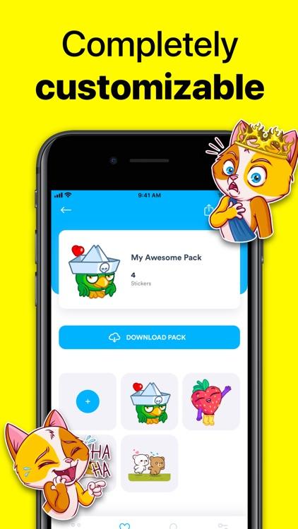 StickerHub - Sticker Maker screenshot-8