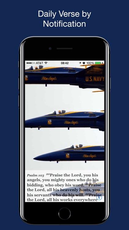 Navy Psalm Daily Quotes NIV screenshot-7