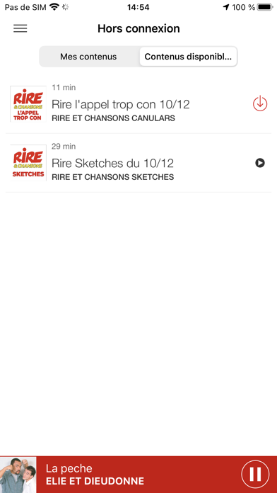 messages.download Rire et Chansons Radio software