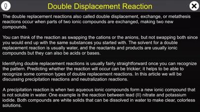 Double Displacement Reaction screenshot 1
