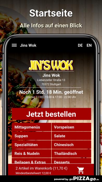 Jins Wok Stuttgart screenshot 2