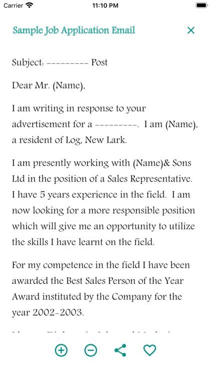 Email Writing Templates screenshot-3