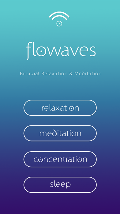 Flowaves: Binaural beats screenshot 2