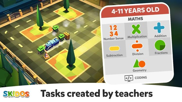 Kids Games: My Math Fun Train screenshot-6