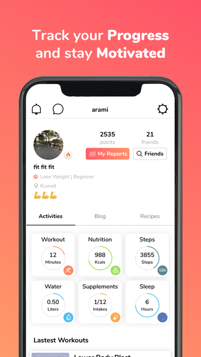 messages.download Gymnadz - Women's Fitness App software